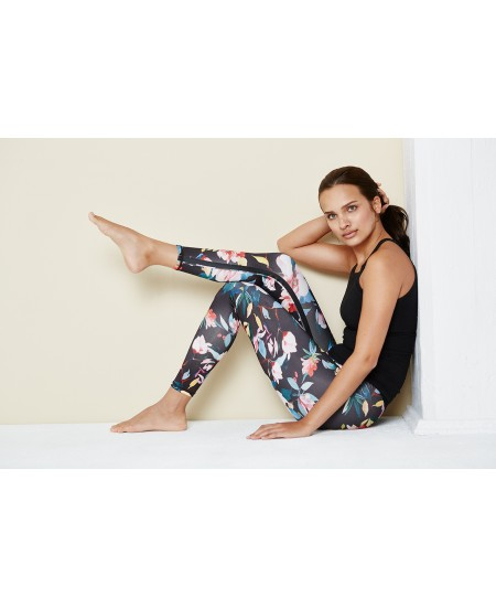 Leggings de yoga Flower ou Plumes