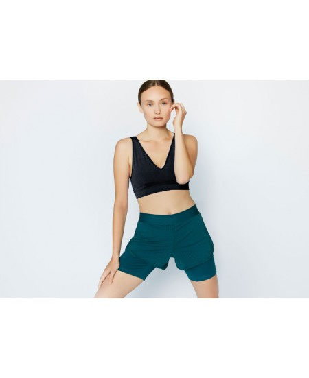 V Neck Yoga Bra