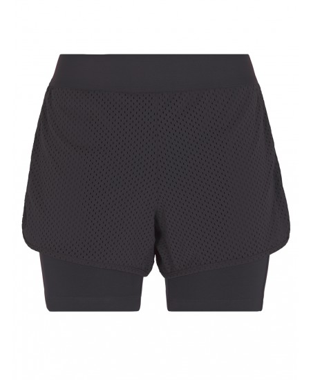 Short Bloomer di Yoga Nero