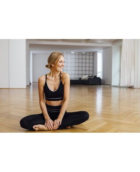 Brassière de Yoga festonné