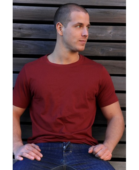 T-Shirt Yoga Homme COL ROND