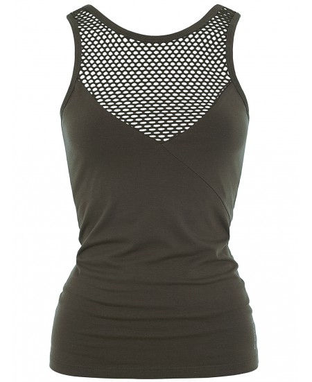 Haut Yoga Mesh Rainforest
