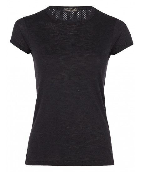 CAP SLEEVE TEE BLACK