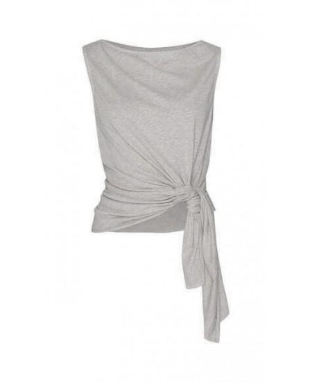 Organic Yoga Tank Waist Tie