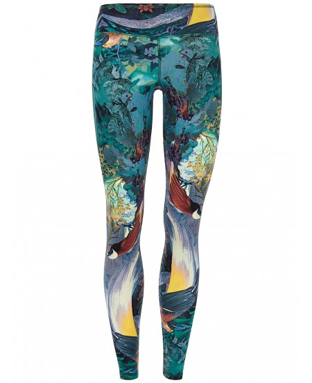 Leggings Yoga Tencel Stampato Autunno
