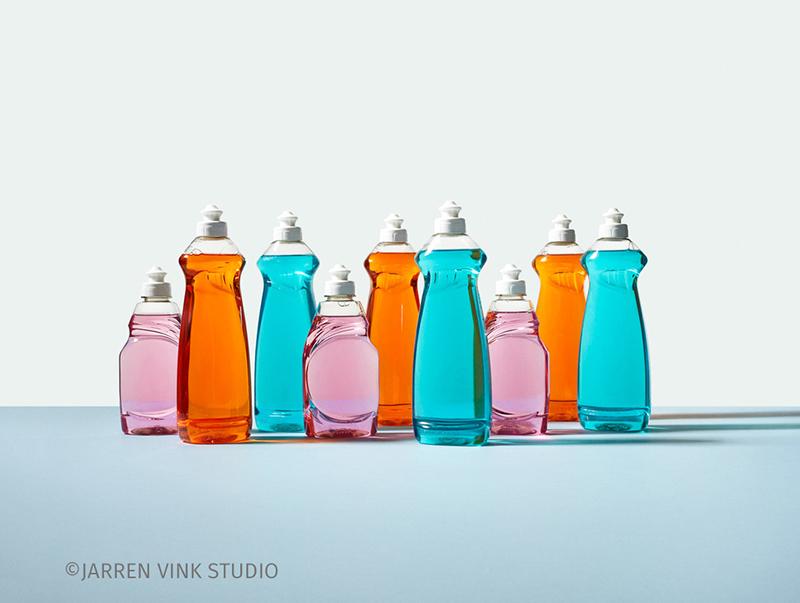 bouteille de plastique recyclée