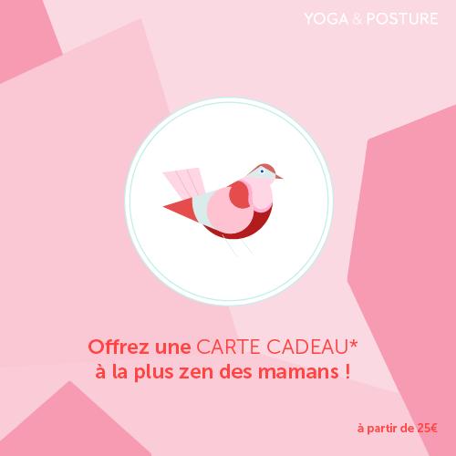 Yoga Fête des Mères Carte Cadeau