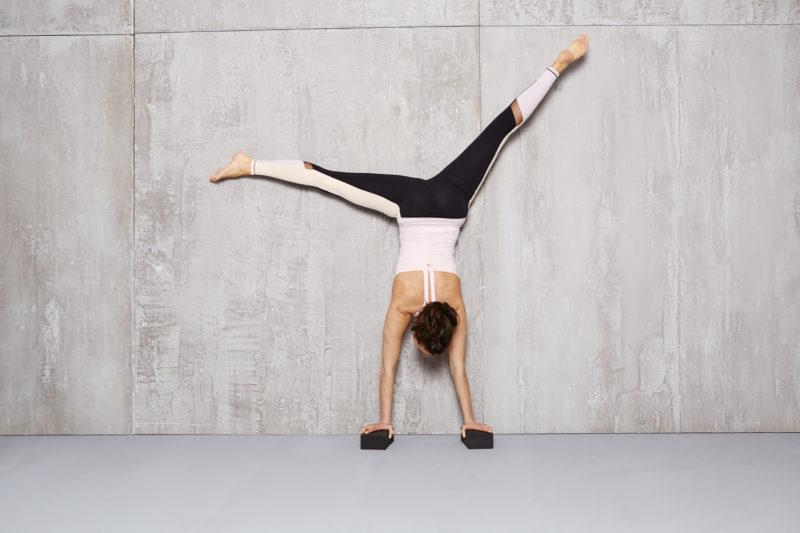 Pantalon de Yoga Color Block